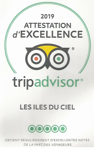Tripavisor - excellence